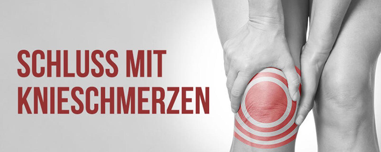 Knieschmerzen nachhaltig beseitigen